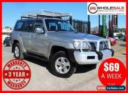 2009 Nissan Patrol GU 6 ST Wagon 7st 5dr Man 5sp 4x4 3.0DT [MY08] Manual M for Sale